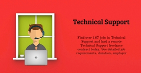 Technical Support Reklama na Facebooka template