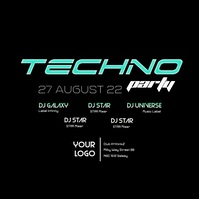 Techno Electro Sound Electronic Music Event Party Tech House