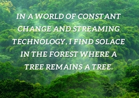 TECHNOLOGY AND FOREST QUOTE TEMPLATE A6