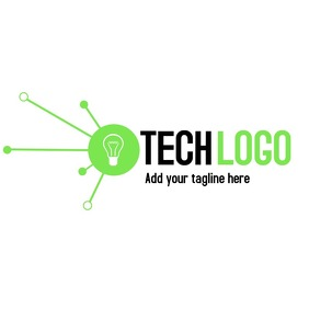 Technology business logo template