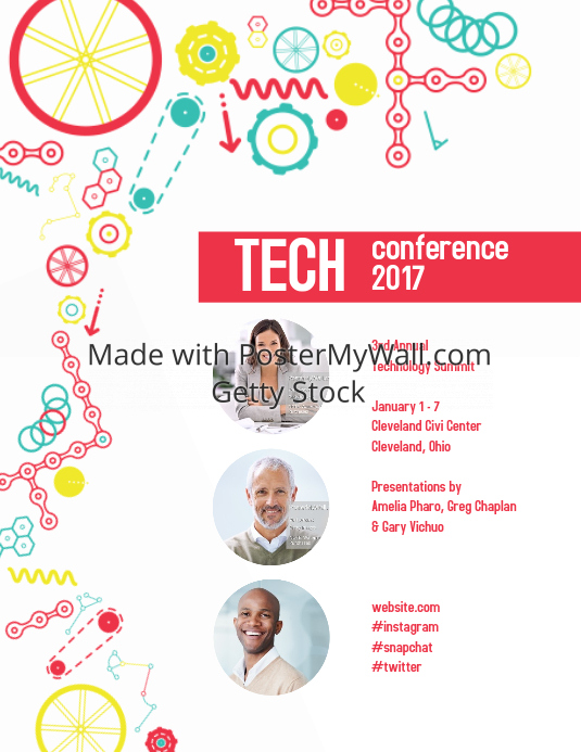 Technology Event Poster