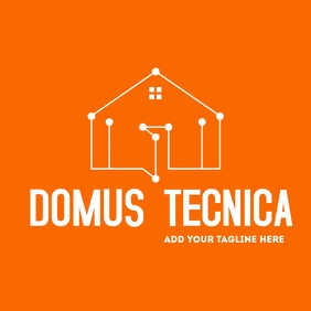 technology house logo