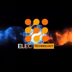 TECHNOLOGY TECH TECNICAL LOGO SOCIAL MEDIA template