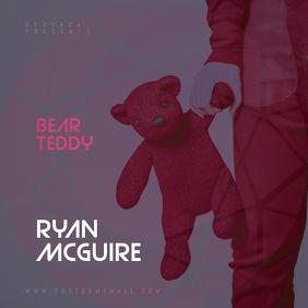 Teddy Bear CD Cover Template