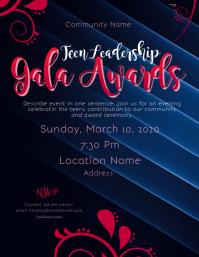 teen leadership Gala awards