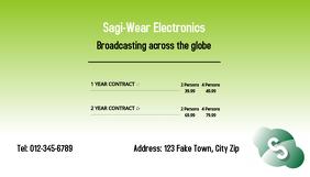 Telecommunication Business Card