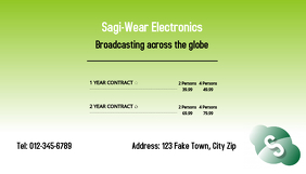 Telecommunication Business Card