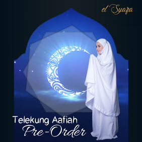 Telekung Aafiah pre-order