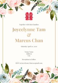 Tempalate wedding spring chinese