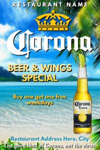 Template bar pub corona