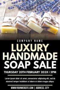 Template beauty soap sale