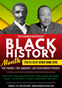 Template black history month