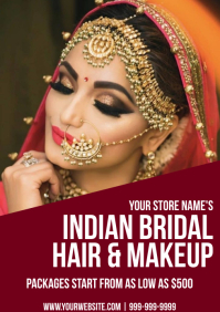 Template bridal makeup