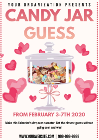 Template candy guess valentines