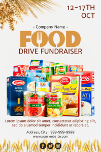 Template charity Poster