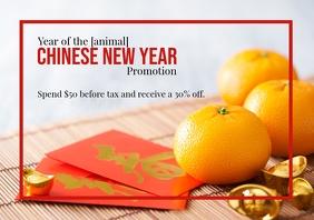 Template CNY mandarins