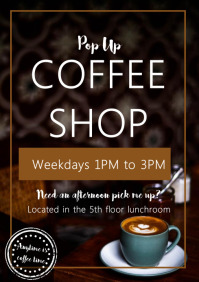Template Coffee Shop Latte