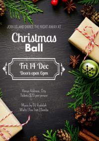 Template dance christmas ball