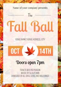 Template dance fall ball
