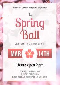 Template dance spring ball