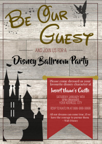 Template disney ballroom party