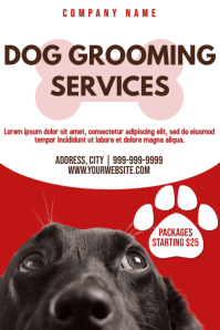 Template dog grooming