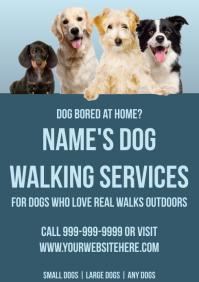 Template dog walker