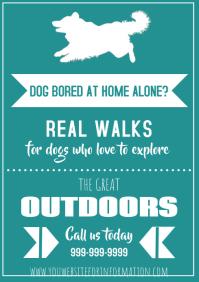 Template dog walker simple