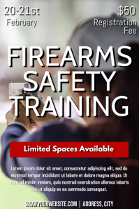 Template firearms safety training