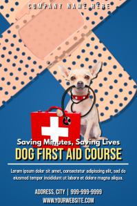 Template first aid dog