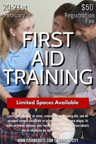 Template first aid training