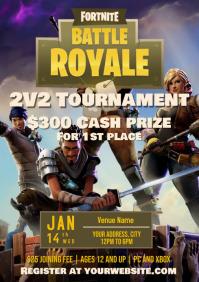Template Fornite Tournament