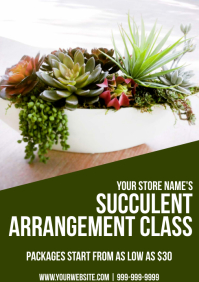 Template gardening succulents