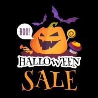 template happy halloween party design Instagram Post