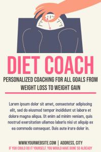 Template health diet coach