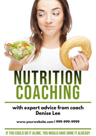 Template health nutrition A4