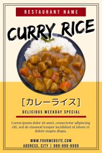 Template japanese food