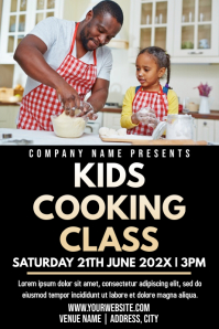 Template kids cooking class