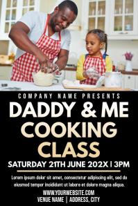 Template kids cooking class