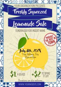 Template lemonade A4