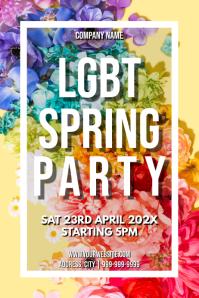 Template LGBT spring