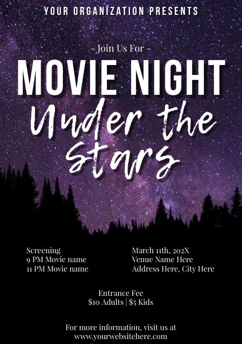 Template movie night