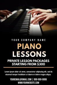 Template music lessons