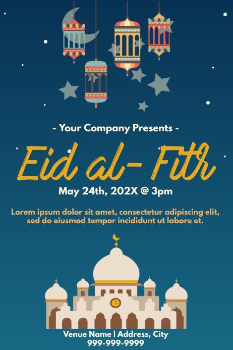 Template muslim eid Iphosta