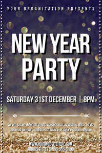 Template new year party