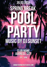 Template pool party