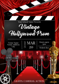 Template prom hollywood