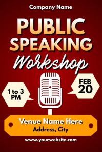 Template public speaking