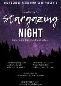 Template school stargazing