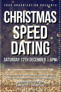 Template speed dating christmas